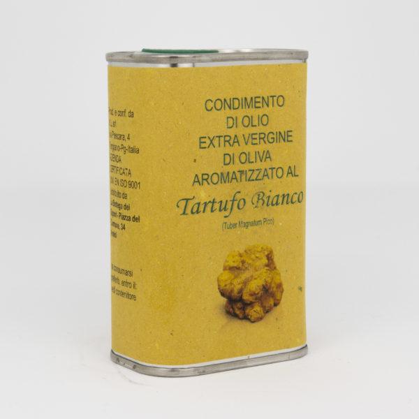 Condimento di Olio Extra Vergine di Oliva al Tartufo Bianco