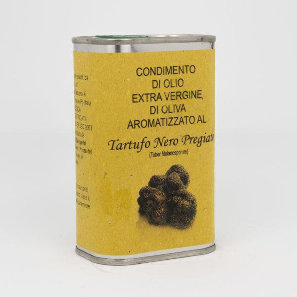 Condimento di Olio Extra Vergine di Oliva al Tartufo Nero